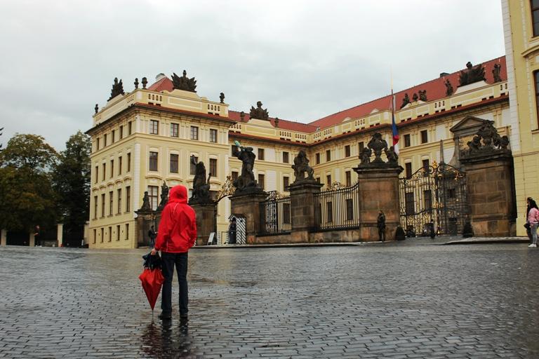 Ttrg ispred Praškog dvorca, Foto: Jasna Gajević