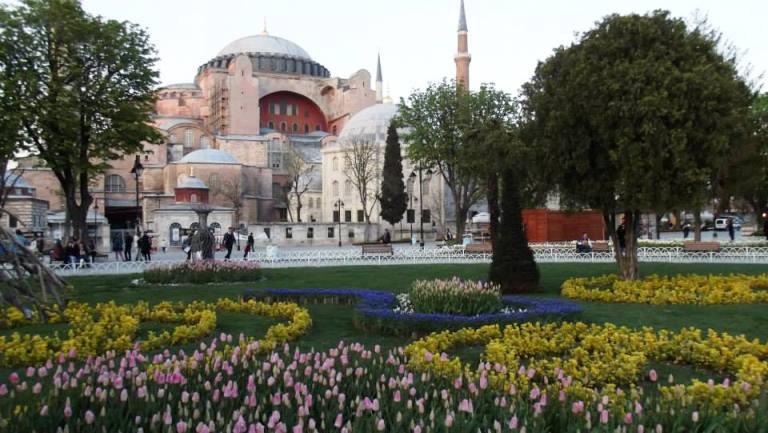 Istanbul, Aja Sofija. Foto: Jasna Gajević