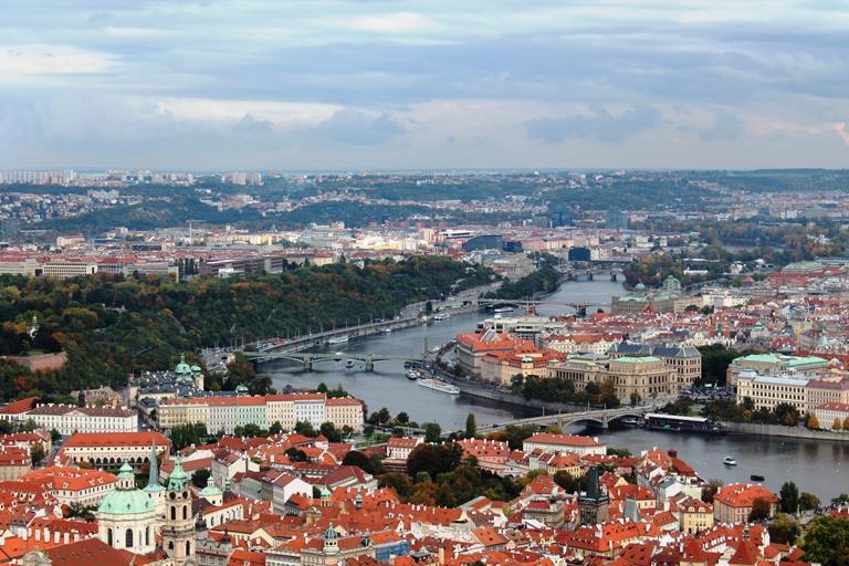 Pogled na Prag sa tornja Petrin, Foto: Jasna Gajević
