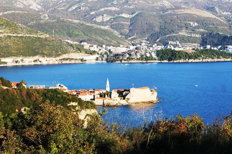 Budva sa tvrđave Mogren, Foto: Jasna Gajević