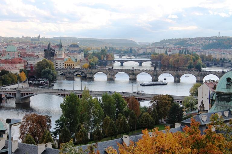 Pogled na mostove Praga, Foto: Jasna Gajević