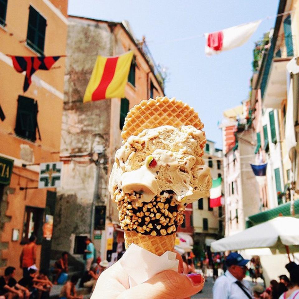 Sladoled sa pistaćima- Italija