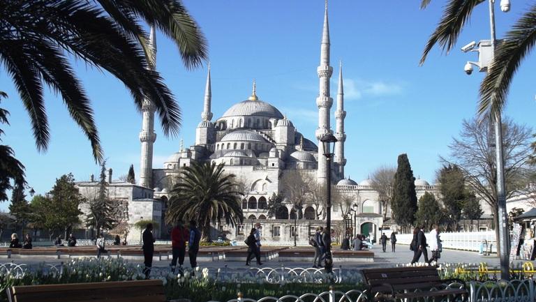 Plava (Sultan Ahmed džamija), Foto: Jasna Gajević